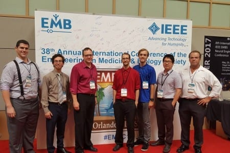 <strong>August 2016:</strong> NPR lab presents research at the 8th International IEEE EMBS Neural Engineering Conference in Orlando, Florida.